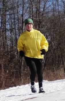 Running on Nisky Bike Trail