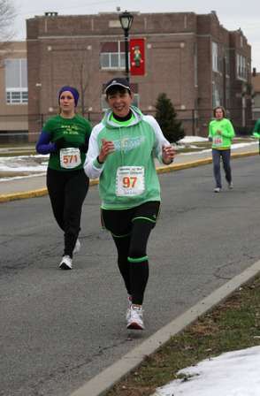 Runnin of the Green 4 miler '11