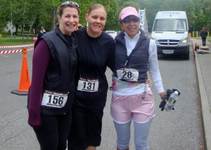 Felice, Amanda & me after the race in 2010