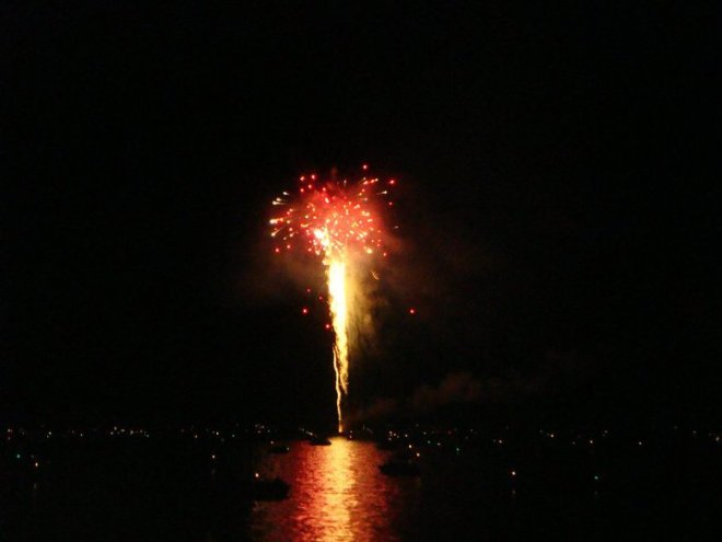 Bolton Landing fireworks