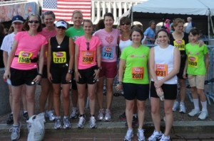 I am thankful for the women I have met running & for their inspiration
