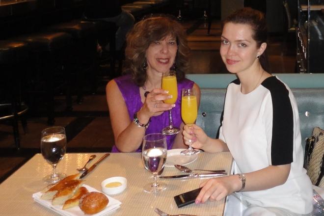 brunch at Gordon Ransey's The Maze restaurant