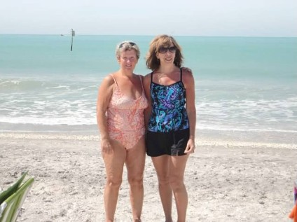 Pat & I at Englewood Beach