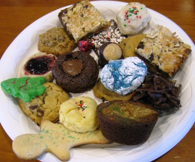 christmas cookie exchange at work
