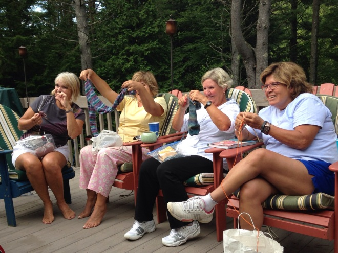 the knitters
