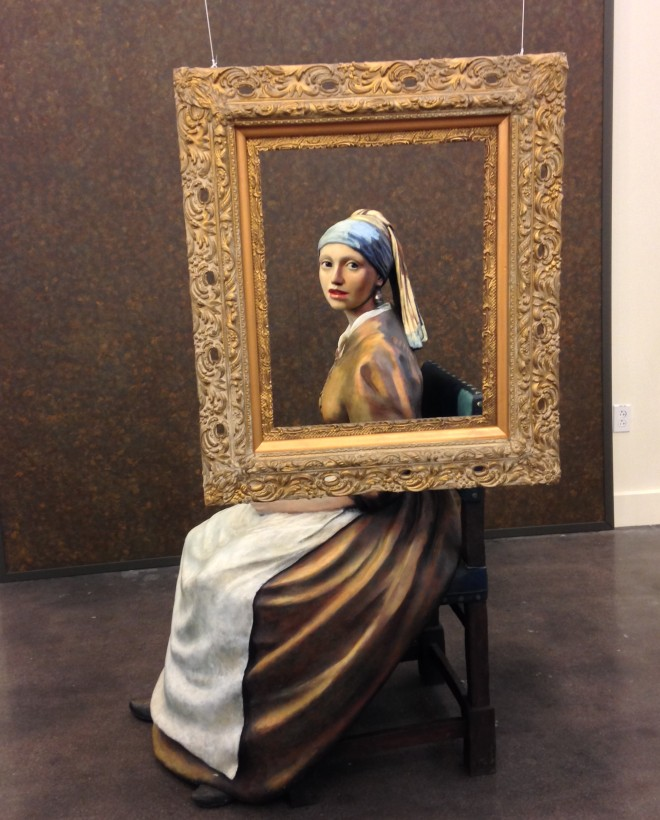 the Nature of Obsession (based on Vermeer's Girl with the Pearl Earring)