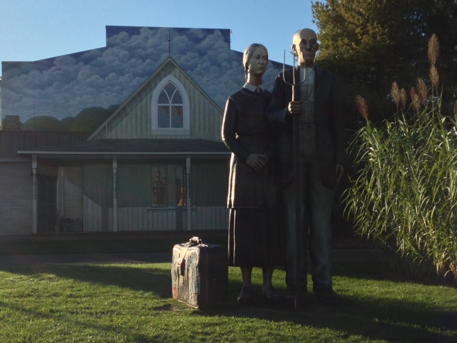 God Bless America (based on Grant Wood's American Gothic)