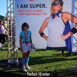 10 miler -  1:38:45