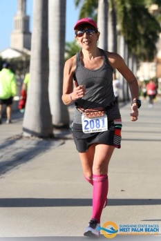 Jan 2015 -W. Palm Beach Half Marathon - which went well