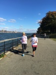 along the Hudson River, NYC